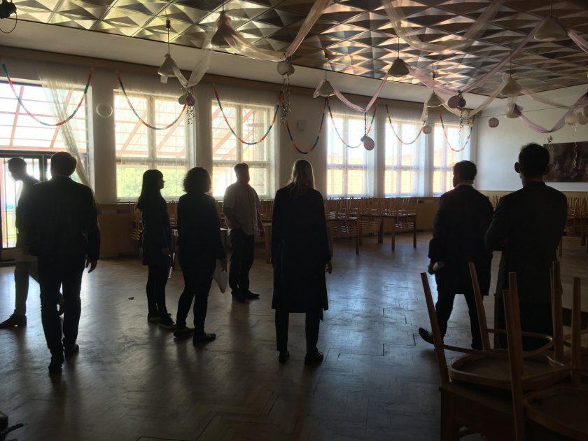 Prohlídka budovy Podkovy